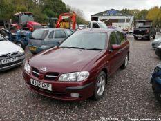 02/02 NISSAN ALMERA SE - 1497cc 5dr Hatchback (Red, 111k)