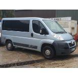 12/62 PEUGEOT BOXER 333 L1H1 HDI - 2198cc 5dr Minibus (Blue, 32k)