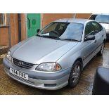 2001 TOYOTA AVENSIS GS VVT-I - 1794cc 5dr Hatchback (Silver, 110k)