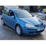 06/06 VOLKSWAGEN GOLF FSI SE - 1598cc 5dr Hatchback (Blue, 121k)