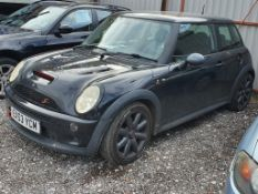 03/53 MINI MINI COOPER S - 1598cc 3dr Hatchback (Black, 112k)