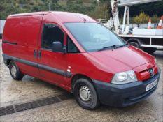 06/06 PEUGEOT EXPERT 815D - 1868cc 6dr Van (Red, 189k)
