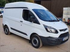 15/15 FORD TRANSIT CUSTOM 290 ECO-TE - 2198cc 5dr Van (White, 60k)
