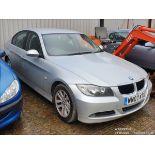 07/07 BMW 320D SE AUTO 4dr Saloon (Silver, 213k)