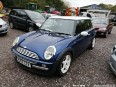 03/53 MINI MINI COOPER - 1598cc 3dr Hatchback (Blue, 98k)
