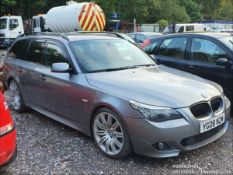 08/08 BMW 535D M SPORT TOURING A - 2993cc 5dr Estate (Grey, 207k)