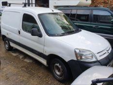 03/03 CITROEN BERLINGO 800TD HDI LX - 1997cc 4dr Van (White, 148k)