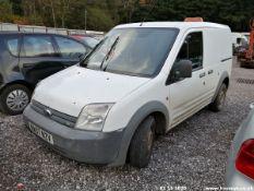07/07 FORD TRANSIT CONN T200 75 - 1753cc 5dr Van (White, 170k)