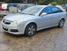 07/56 VAUXHALL VECTRA EXCLUSIV CDTI 120 - 1910cc 5dr Hatchback (Silver, 160k)