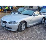 06/56 BMW Z4 SE - 1995cc 2dr Convertible (Silver, 83k)