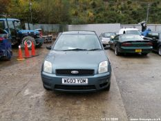 03/03 FORD FUSION 2 16V - 1596cc 5dr Hatchback (Green, 122k)