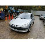 02/02 PEUGEOT 206 GLX - 1587cc 5dr Hatchback (Silver, 56k)