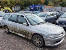 1999 PEUGEOT 306 MERIDIAN HDI (90) - 1997cc 5dr Estate (Silver, 198k)
