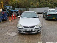 03/53 VAUXHALL CORSA SXI 16V - 1199cc 3dr Hatchback (Silver, 93k)