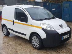 12/62 PEUGEOT BIPPER SE HDI - 1248cc 5dr Van (White, 77k)