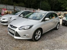 12/12 FORD FOCUS ZETEC TURBO - 998cc 5dr Hatchback (Silver, 71k)