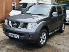 08/08 NISSAN PATHFINDER SPORT DCI - 2488cc 5dr Estate (Grey, 113k)