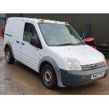 07/07 FORD TRANSIT CONN T200 75 - 1753cc 6dr Van (White, 59k)