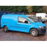 11/61 VOLKSWAGEN CADDY MAXI C20 TDI - 1598cc 6dr Van (Blue, 129k)