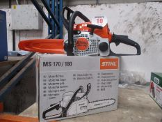STIHL MS170 CHAINSAW NEW