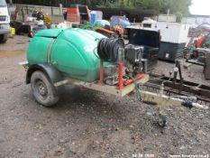 WESTERN WASHER BOWSER ELECTRIC START DIESEL WASHER