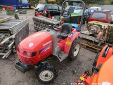 YANMAR COMPACT TRACTOR (NEW REAR LINKAGE) R&D