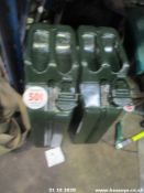 2 JERRY CANS