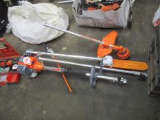 COMBI PRUNER - CHAINSAW, HEDGE CUTTER & STRIMMER ATTACHMENTS