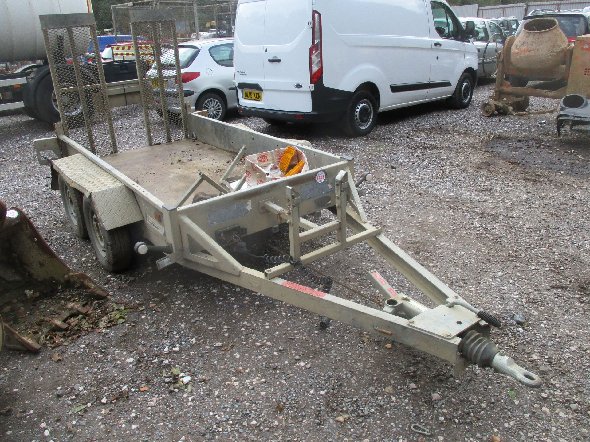 INDESPENSION TWIN AXLE PLANT TRAILER