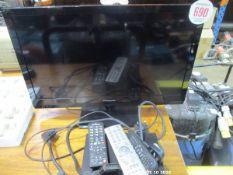PANASONIC TV C/W DVD PLAYER
