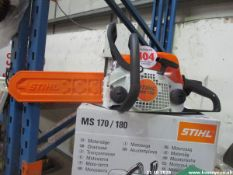 STIHL MS170 CHAINSAW (NEW)
