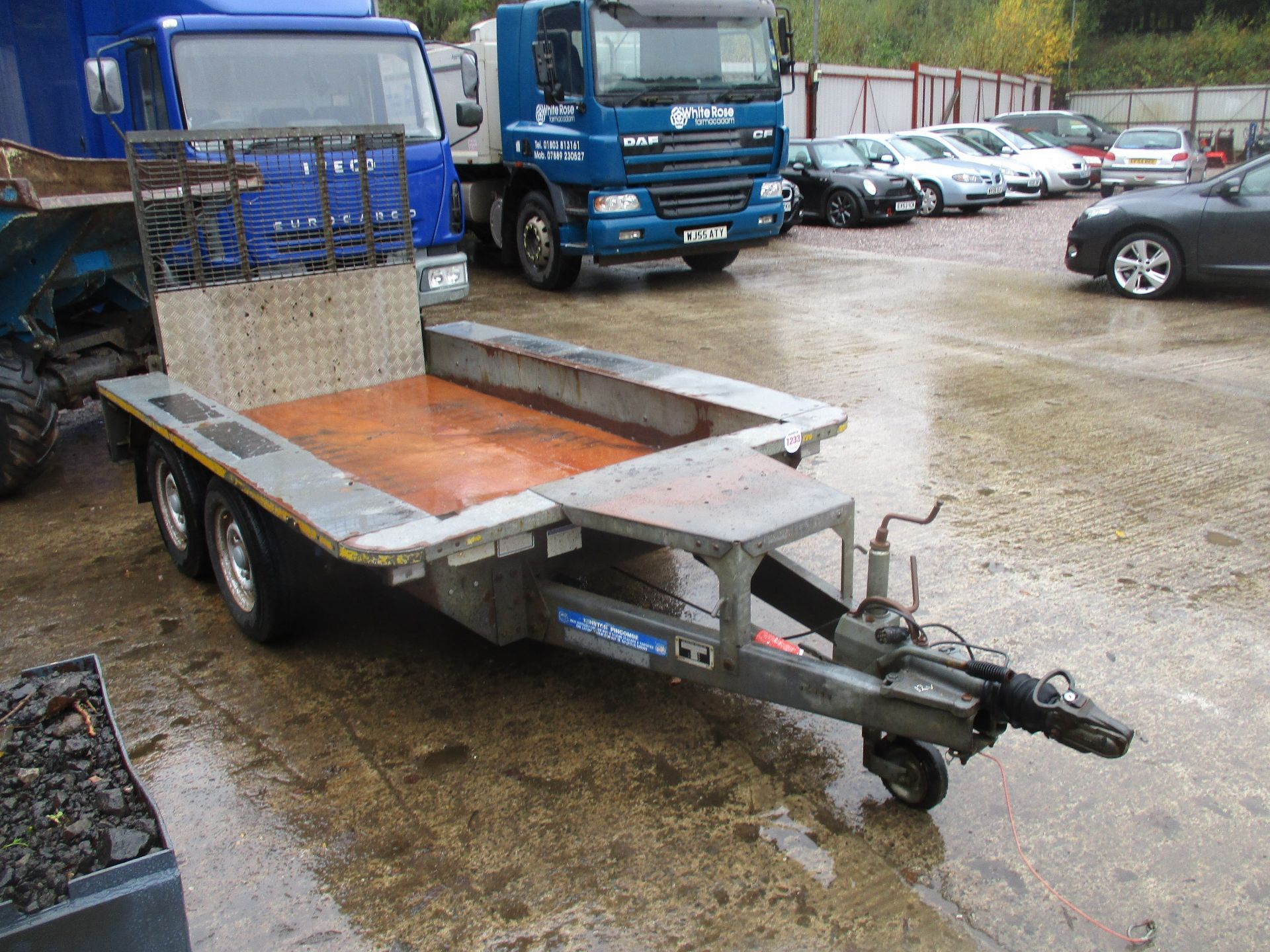 IFOR WILLIAMS TWIN AXLE PLANT TRAILER - Image 2 of 3
