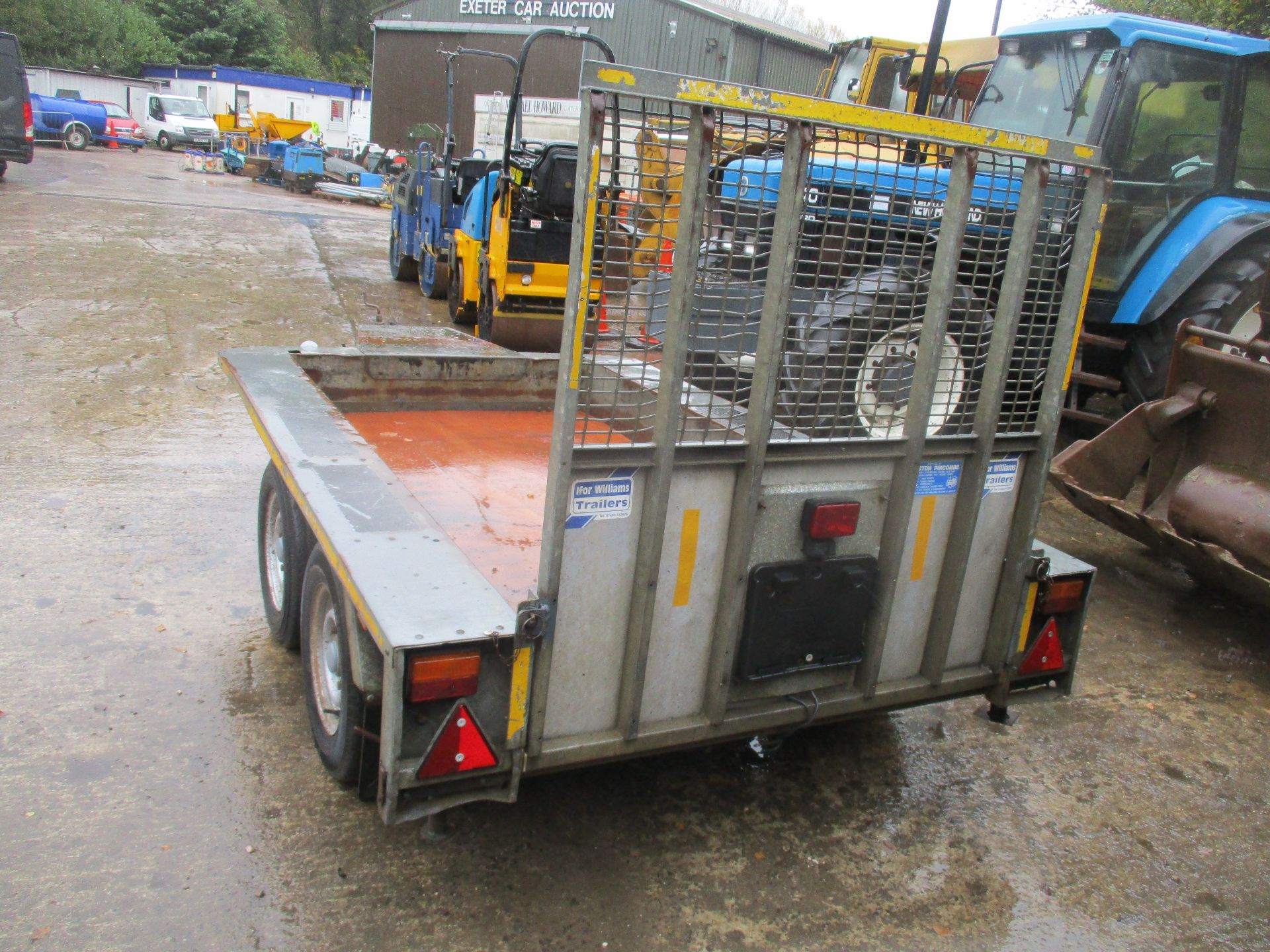 IFOR WILLIAMS TWIN AXLE PLANT TRAILER - Image 3 of 3