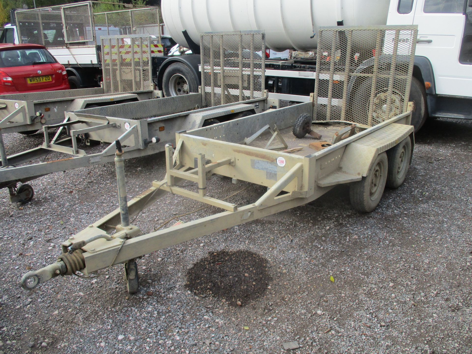 INDESPENSION TWN AXLE PLANT TRAILER - Image 2 of 3