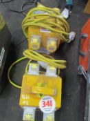 2 JUNCTION BOXES