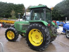 JOHN DEERE 3140 4WD TRACTOR C/W FRONT LINKAGE 3491HRS - WITH KEYS