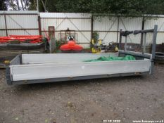 COMMERCIAL VEHICLE BODY APPROX 14FTX6FT