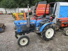 ISEKI TX1510 COMPACT TRACTOR NEW REAR LINKAGE R&D - WITH KEYS