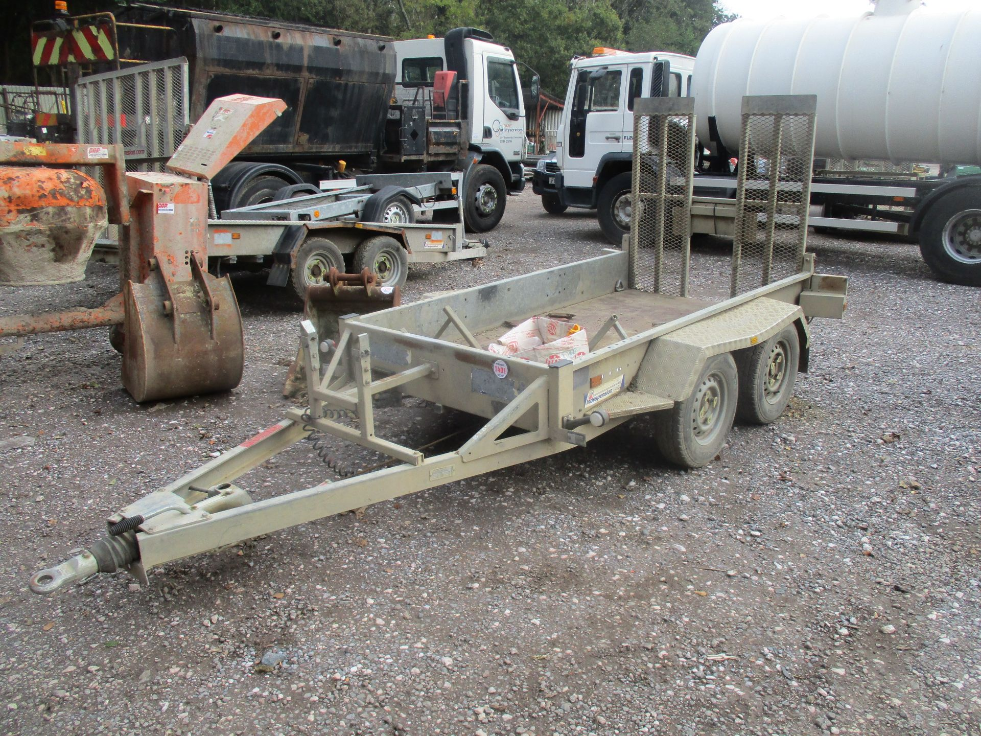 INDESPENSION TWIN AXLE PLANT TRAILER - Image 2 of 3