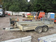 WESSEX TWIN AXLE PLANT TRAILER