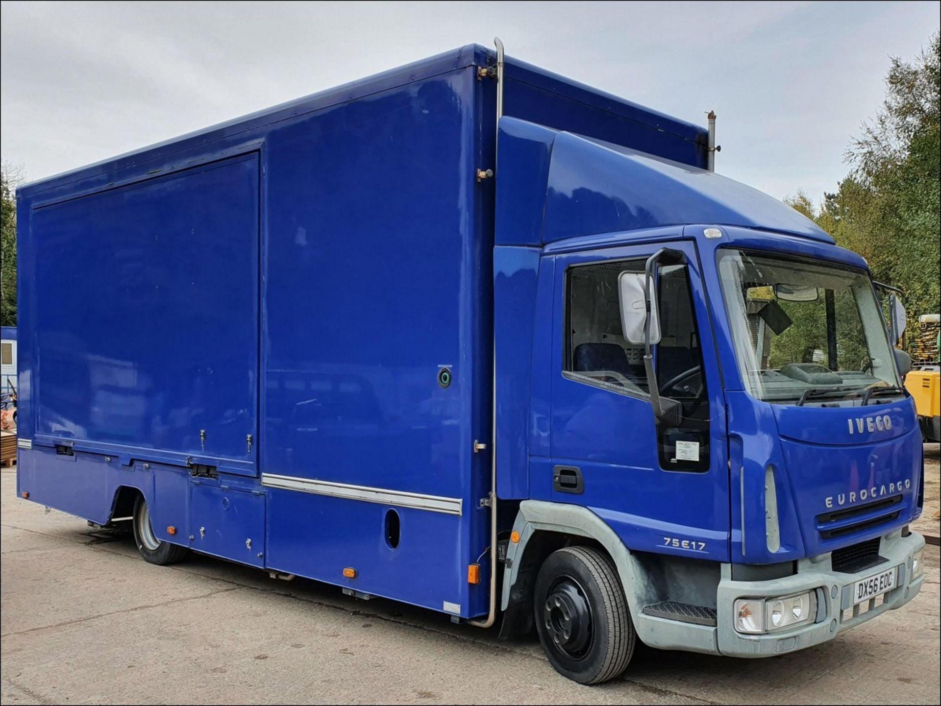 06/56 IVECO EUROCARGO EXHIBITION VEHICLE - 3920cc (Blue, 33k)