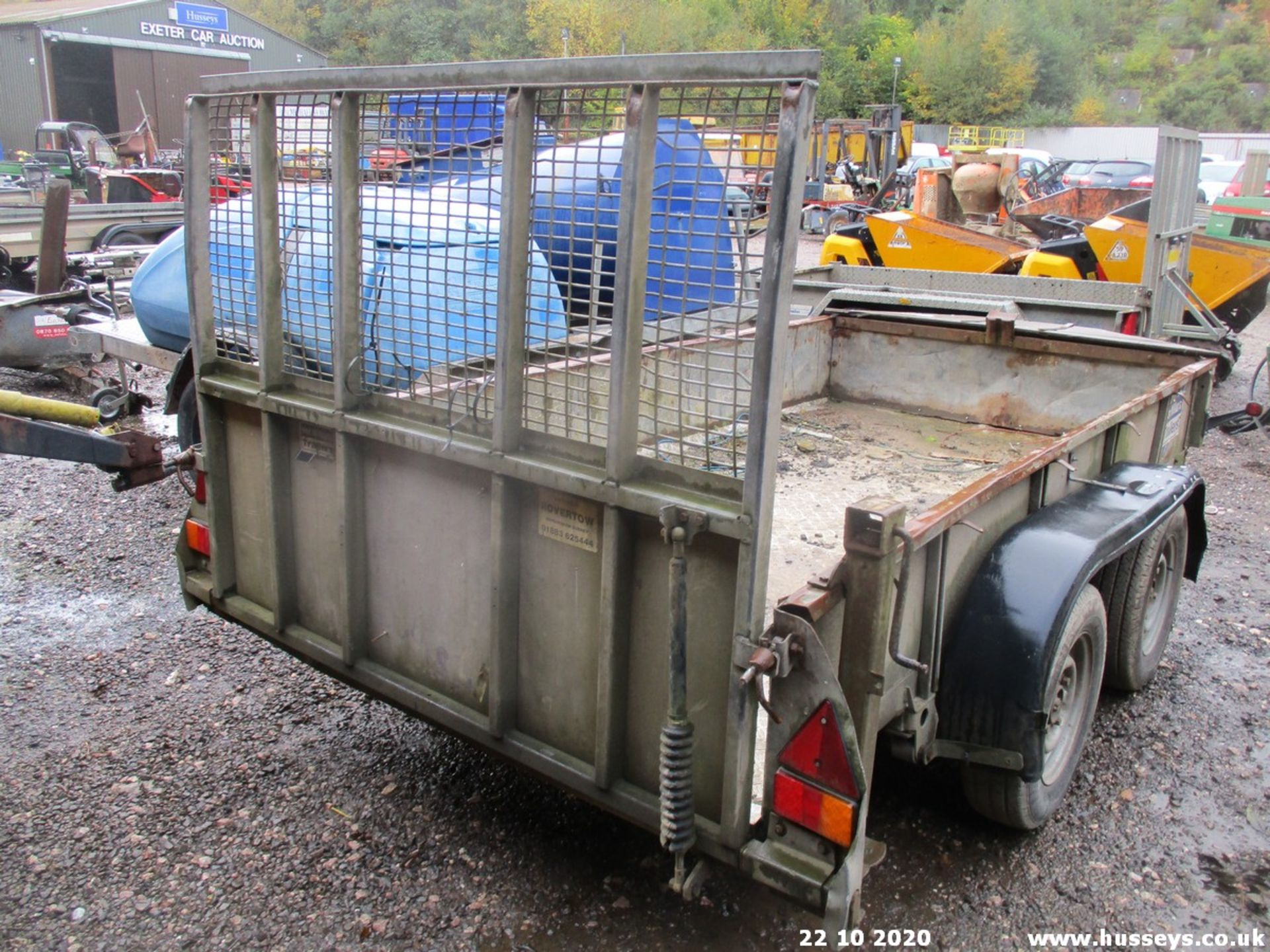 TWIN AXLE PLANT TRAILER - Image 2 of 2