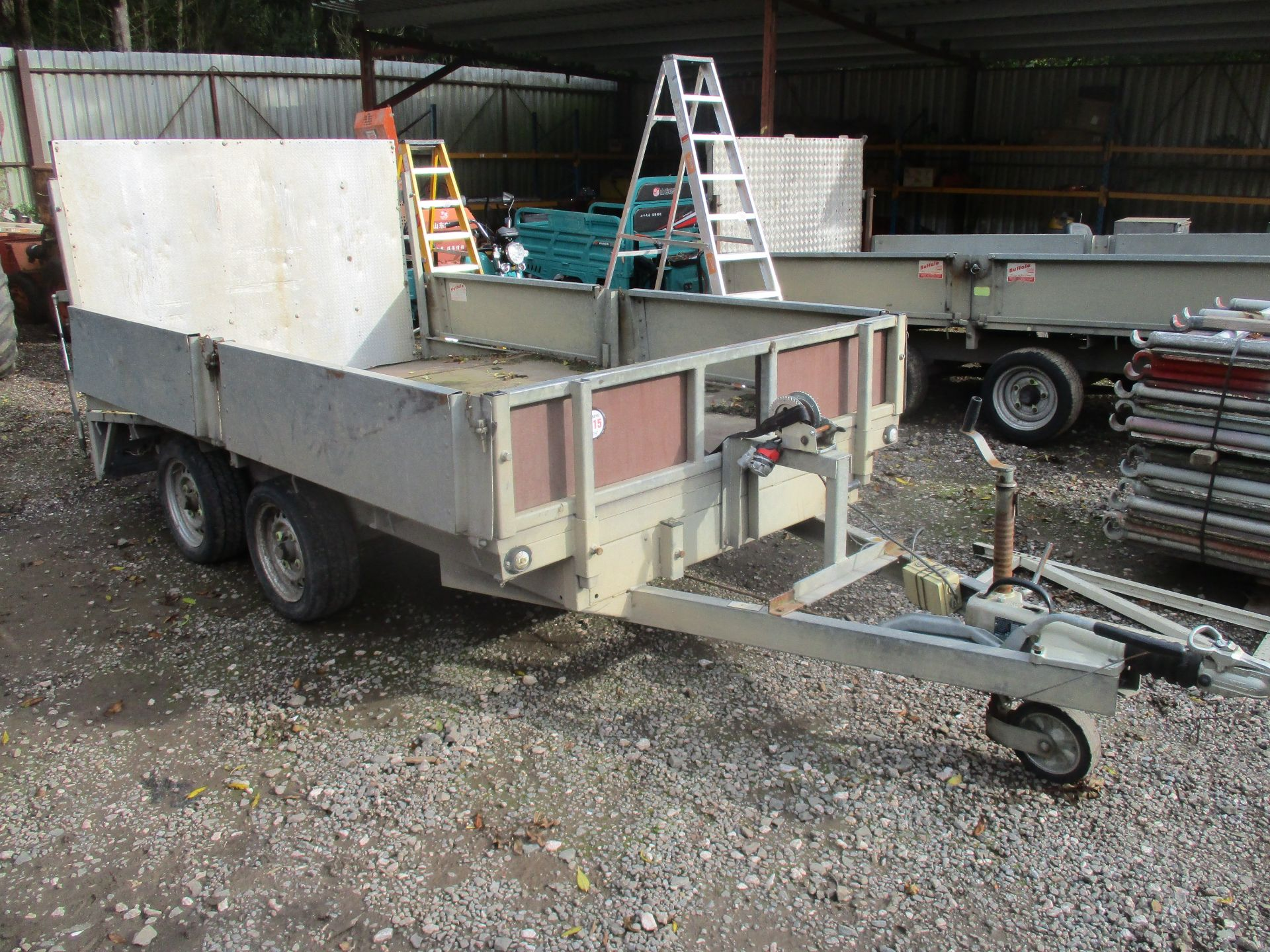 BUFFALO TWIN AXLE PLANT TRAILER