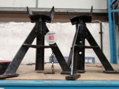 PAIR AXLE STANDS