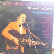 Rock 'n' roll interest; Bill Haley autographed LP