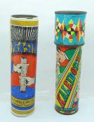 Two vintage toys; Pik-A-Styk and a Kaleidoscope by Chiefton Products Ltd., Bristol
