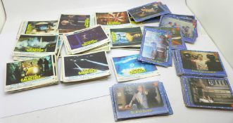 Bubble gum cards, Battlestar Galactica and The Black Hole