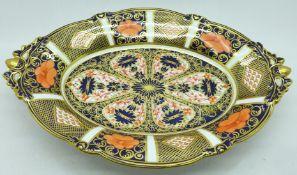 A Royal Crown Derby Imari dish, 29.5cm