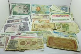 A collection of banknotes