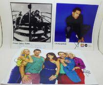 Autographs: 1990's collection, Ocean Colour Scene, Craig David and Steps